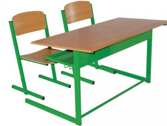 میز و صندلی دانش آموزی دو نفره | میز دانش آموزی