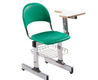 صندلی آموزشی سبددار | صندلی دانشجویی