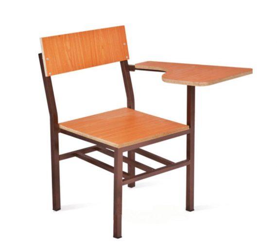 صندلی محصلی چوبی | صندلی دانشجویی | قصر چوبی