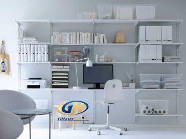 طراحی دفتر کار ، دکوراسیون اداری ، قصر چوب