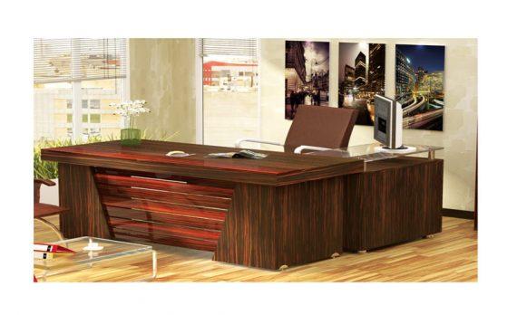 میز مدیریت دنا | مبلمان اداری مدرن | قصر چوب