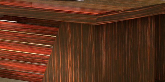میز مدیریت مدرن دنا | مبلمان اداری مدرن | قصر چوب