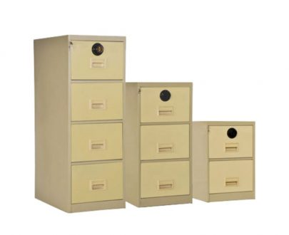 فایل فلزی رمز دار سه کشویی | ملزومات اداری