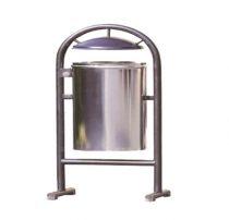 سطل زباله پارکی پایه دار | قیمت سطل زباله