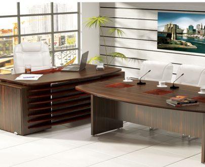میز مدیریت و میز کنفرانس رنا   مبلمان اداری   مبلمان اداری نیلپر