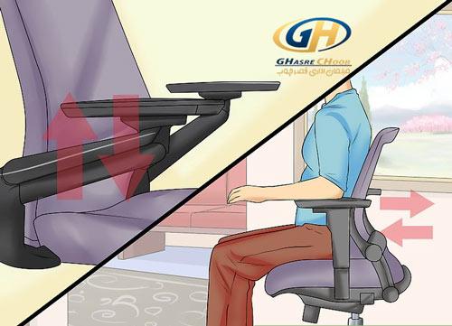 راحت بودن صندلی مدیریتی