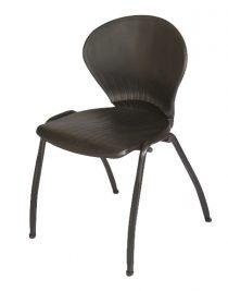 صندلی صدفی مشکی