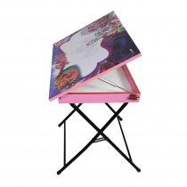 میز باکس دار طرح باربی