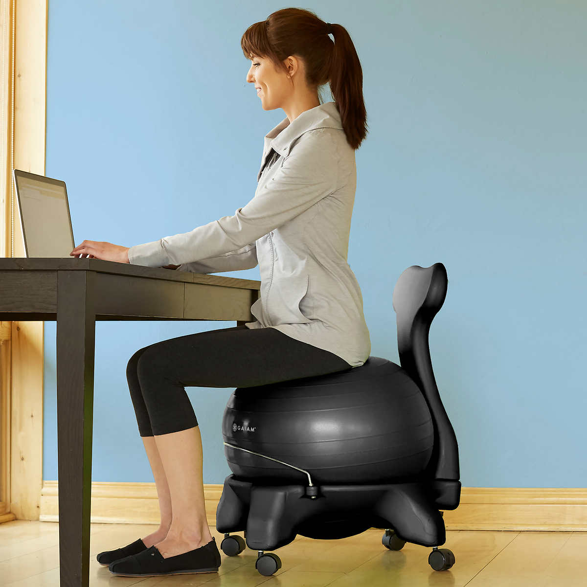 صندلی ارگونومیک توپی ورزشی
